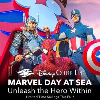 Marvel Day at Sea