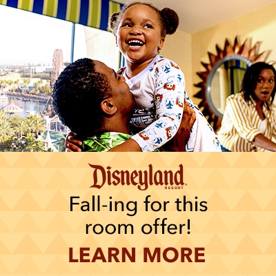 Up to 25% Off - Fall into the season and save on select Disneyland Resort Rooms!