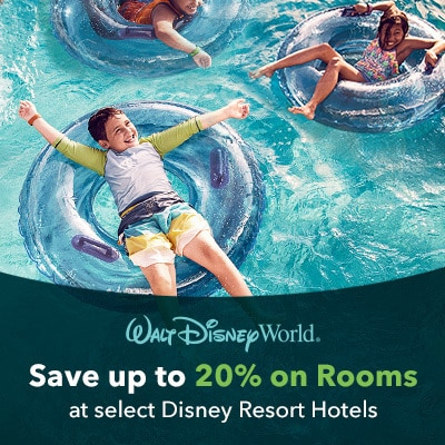 Save Up to 20% on Rooms!