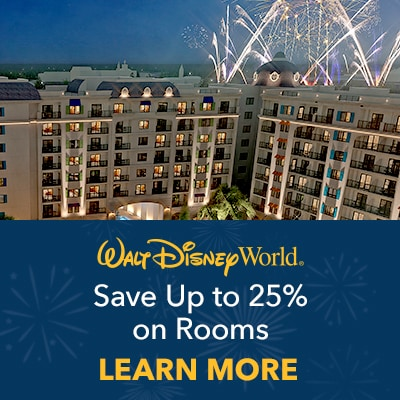 Magical Offer - Give the Gift of Magic. Save Up to 25% on Rooms This Spring!