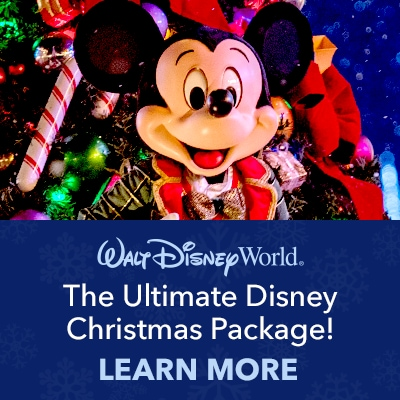 The Ultimate Disney Christmas Package