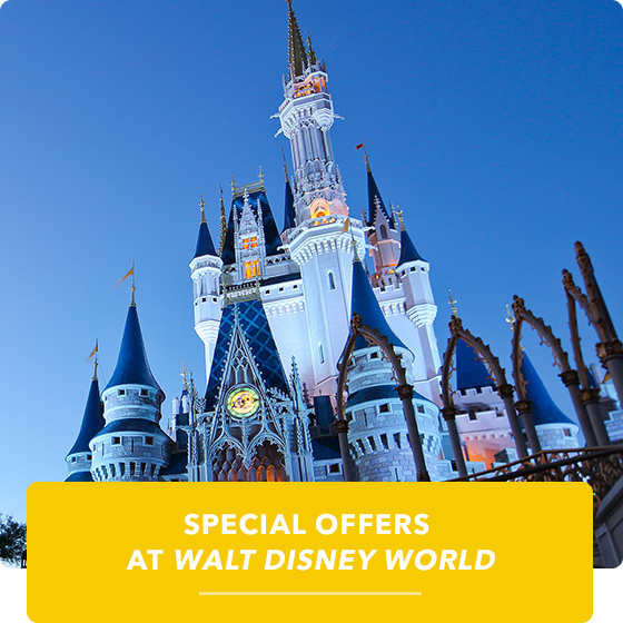 Special offers at Walt Disney World