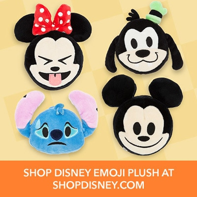 Disney Emoji at the Disney Store