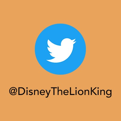 Protect the Lion - Twitter - The Lion King