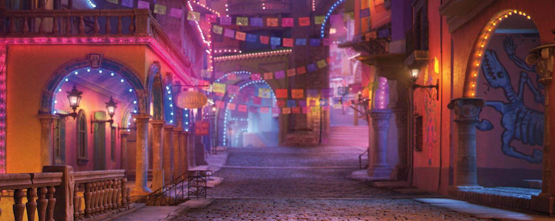 Pixar Coco Video Background