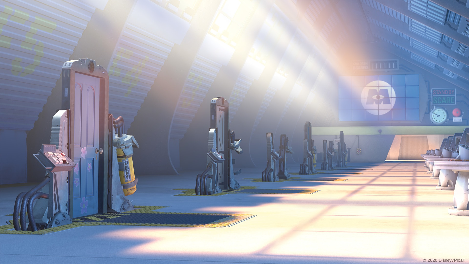 Monsters, Inc video background