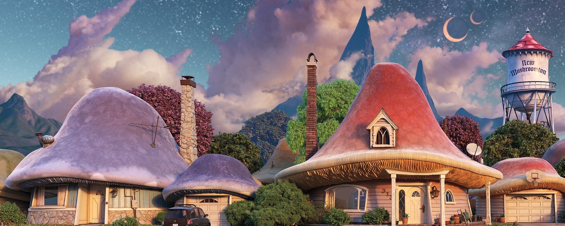 new mushroomton from Pixar's onward