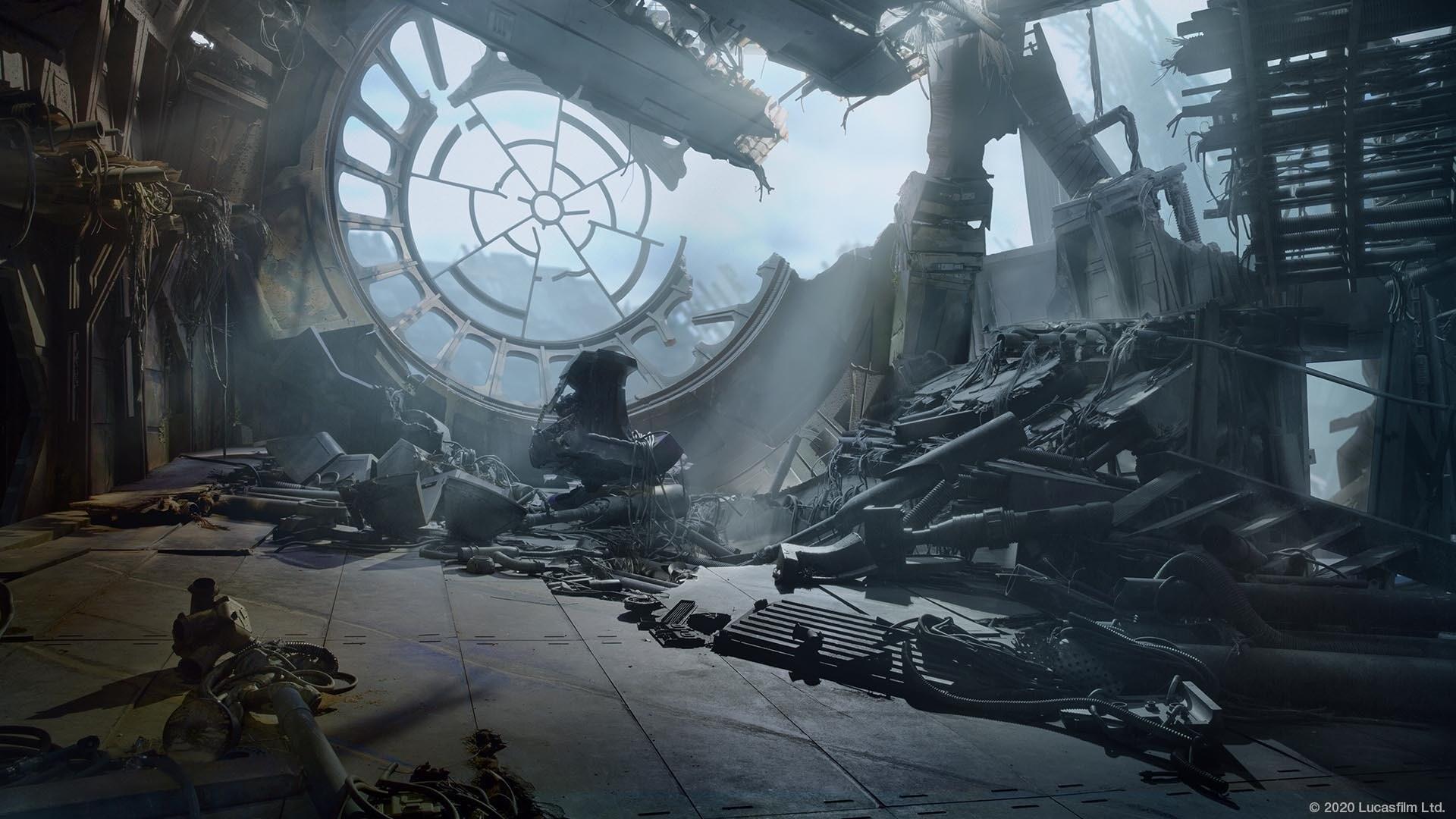 Death Star Ruins