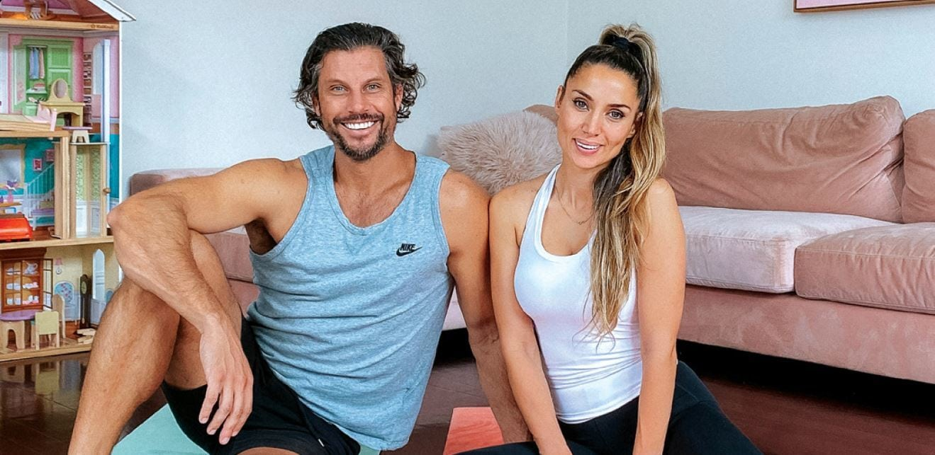 Stay fit with wicked workout tips by former Bachelor winners Sam and Snezana Wood