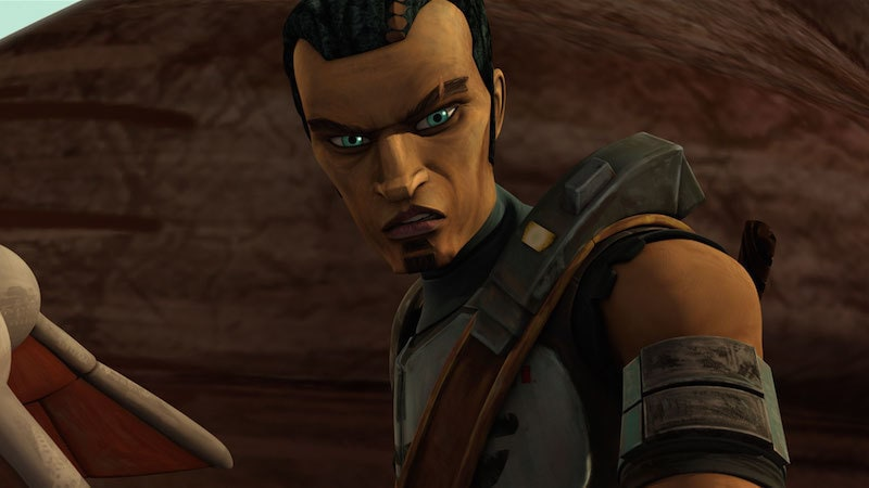A young Saw Gerrera on Onderon during The Clone Wars