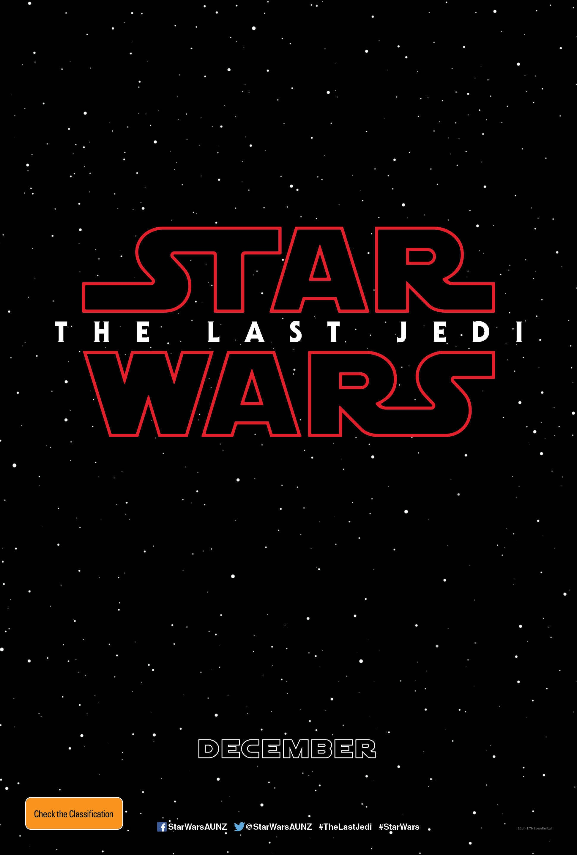 Star Wars Episode 8: The Last Jedi - Poster