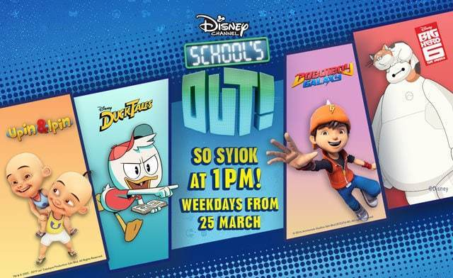 Disney Channel School's Out | Disney TV Shows | Malaysia