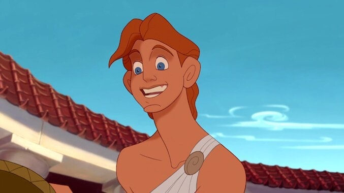 "Hercules from the animated movie ""Hercules"""