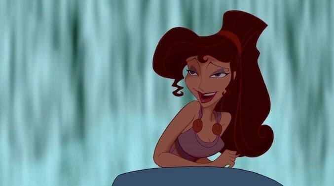 "Megara from the animated movie ""Hercules"""