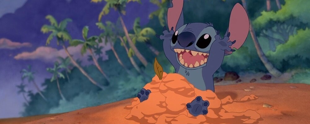 "Stitch from the animated movie ""Lilo & Stitch"""