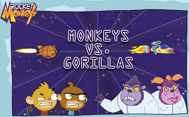 Monkeys VS. Gorillas