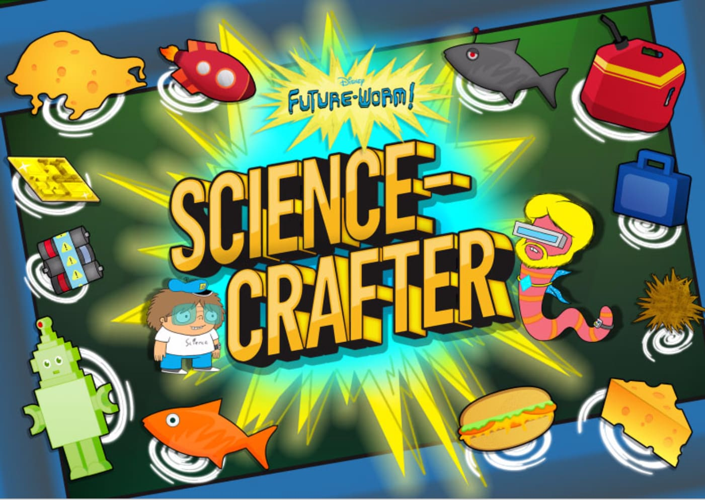 Future-Worm! Science Crafter