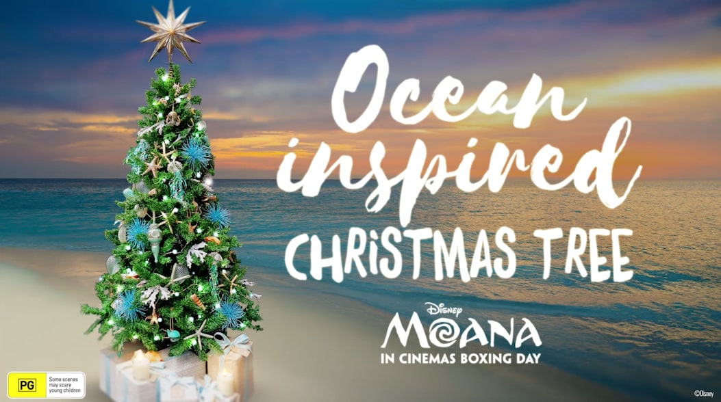 Stand Out This Christmas With A Beautiful Ocean Inspired Tree