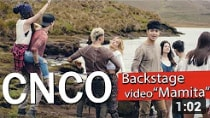 CNCO - Backstage Video Mamita