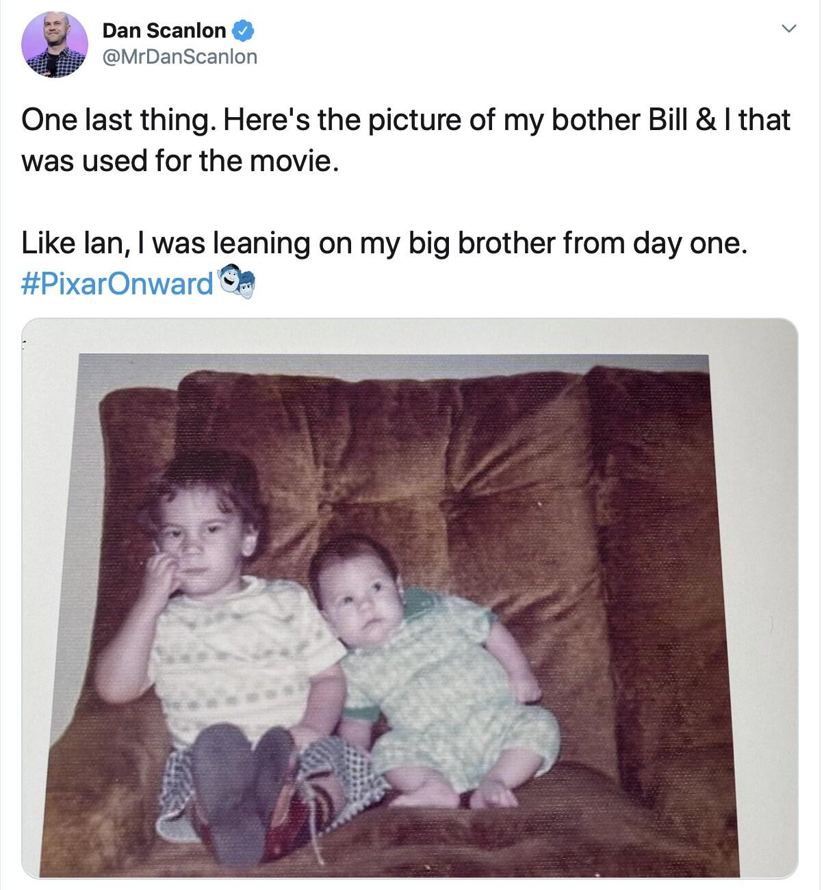 Dan Scanlon and his brother Bill
