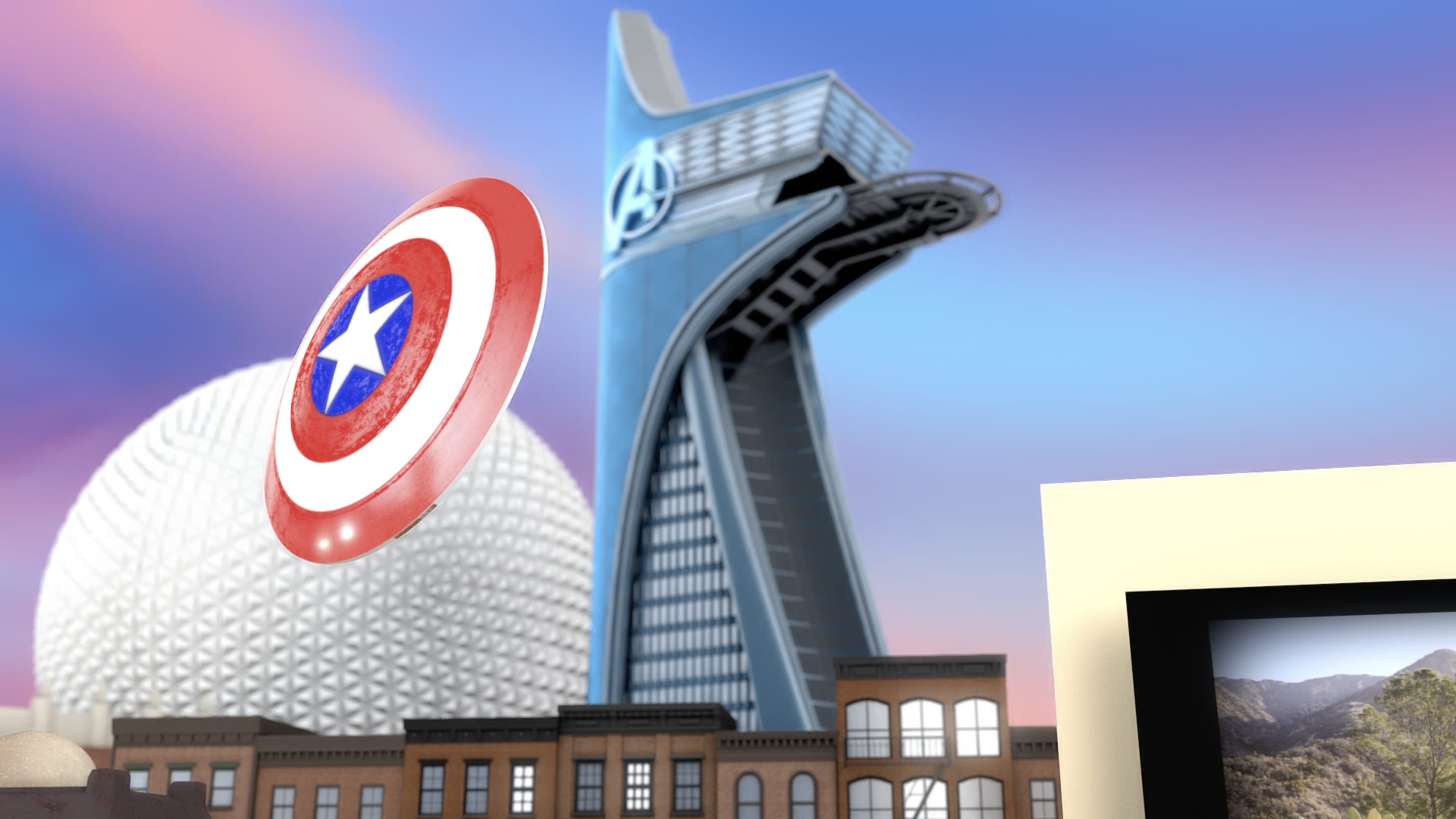 Avengers Tower - Disney Insider
