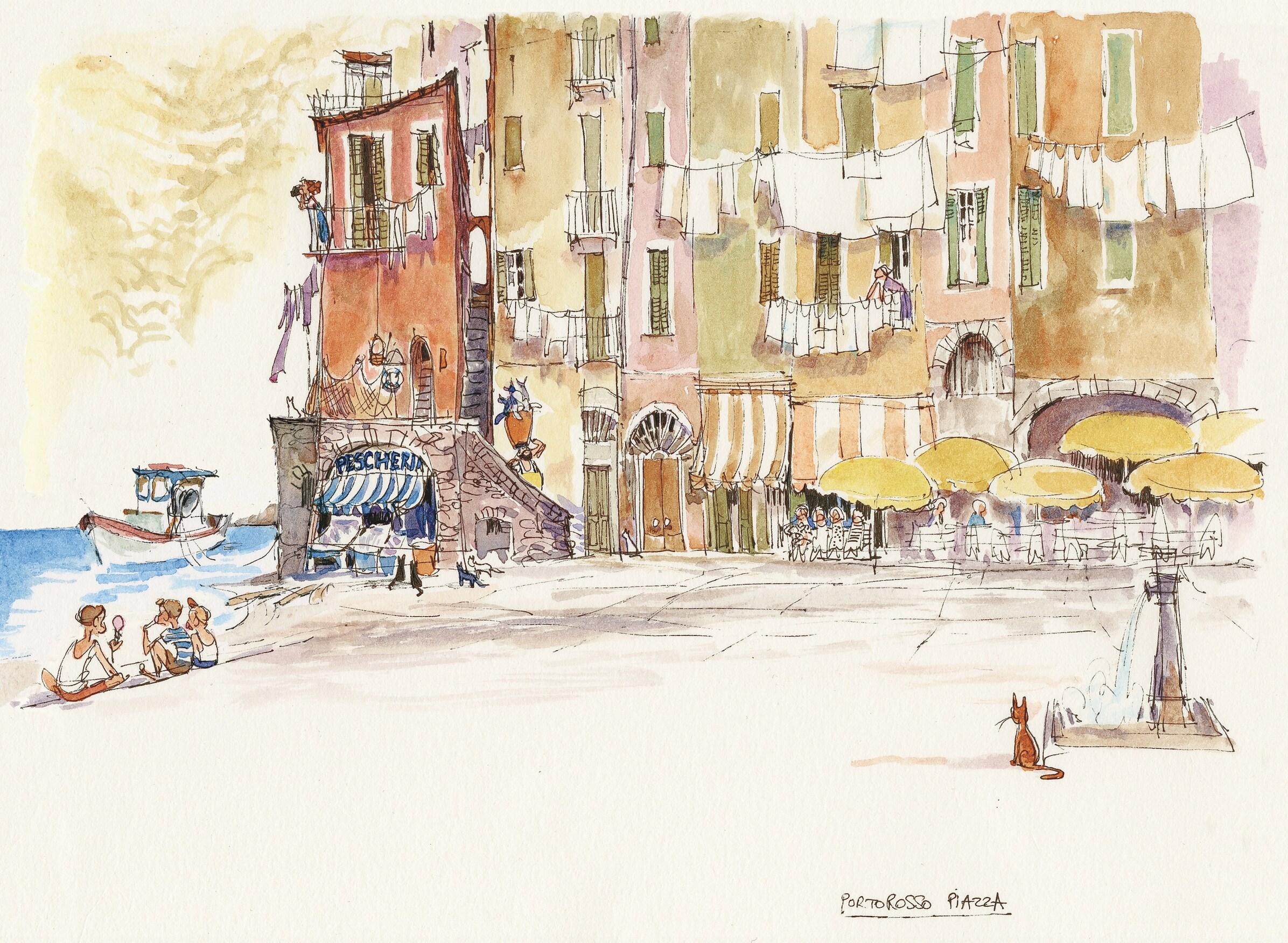 sketch of portorosso