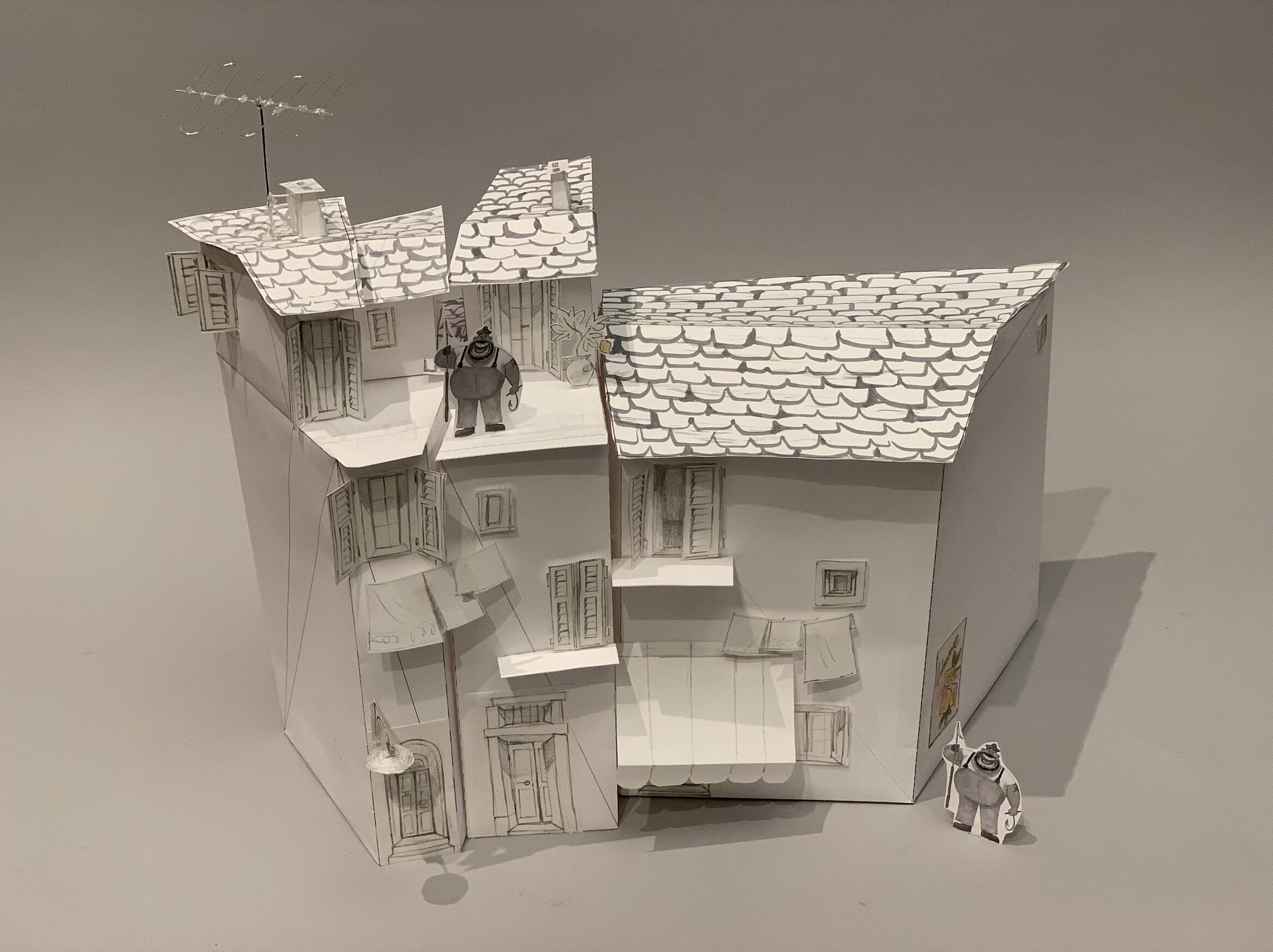 models of buildings in portorosso