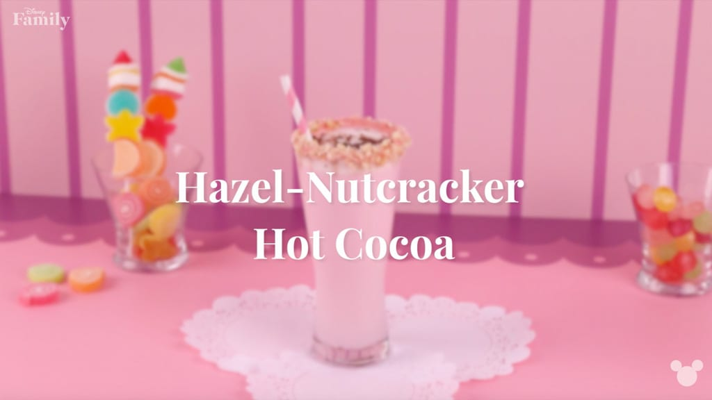 Hazel-Nutcracker Pink Hot Chocolate