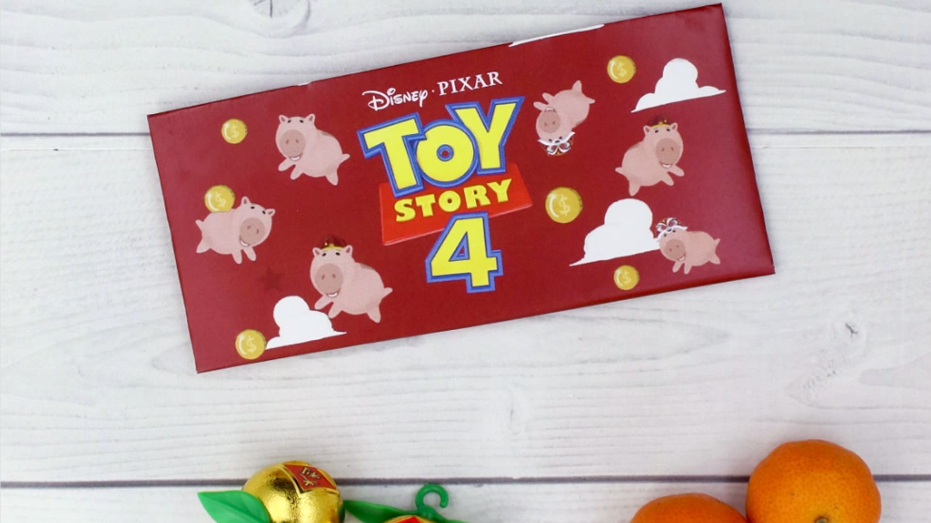 Make This Toy Story-Inspired Angbao Featuring The Lovable Hamm