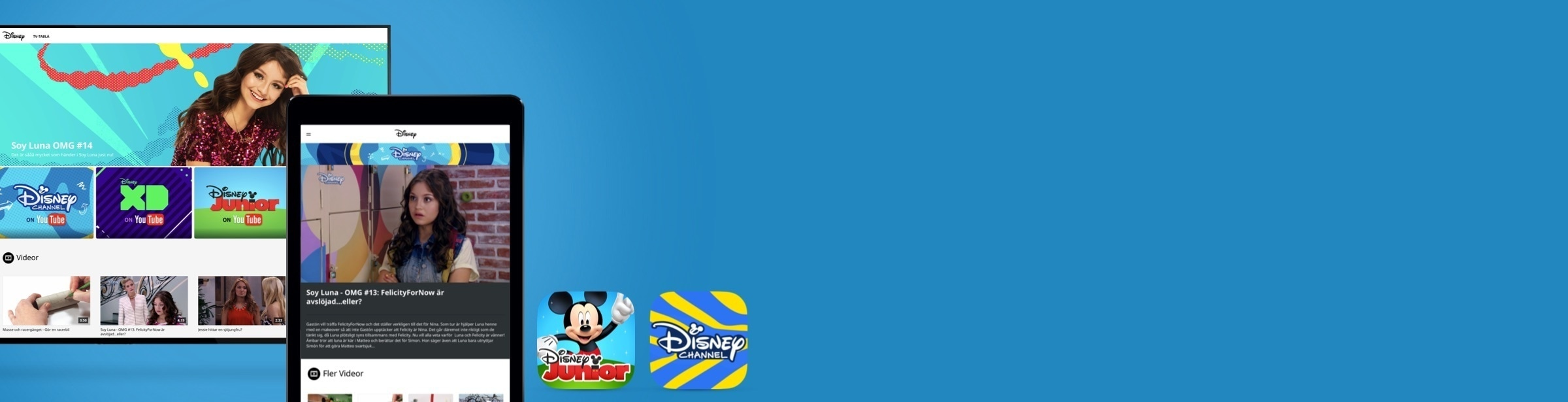 Disney Channel app | Disney Junior app
