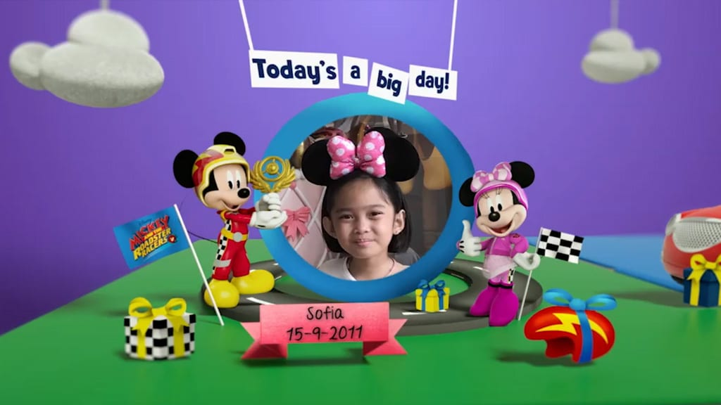 Disney Junior Birthday Book 2018 September Album 1