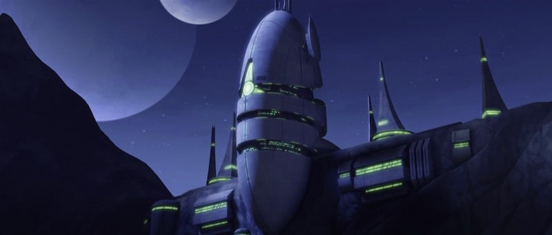 Count Dooku's citadel on Serenno