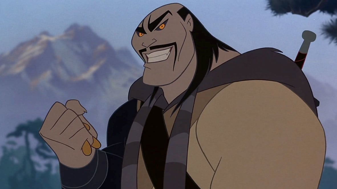 "Character Shan Yu in the animated movie ""Mulan"""