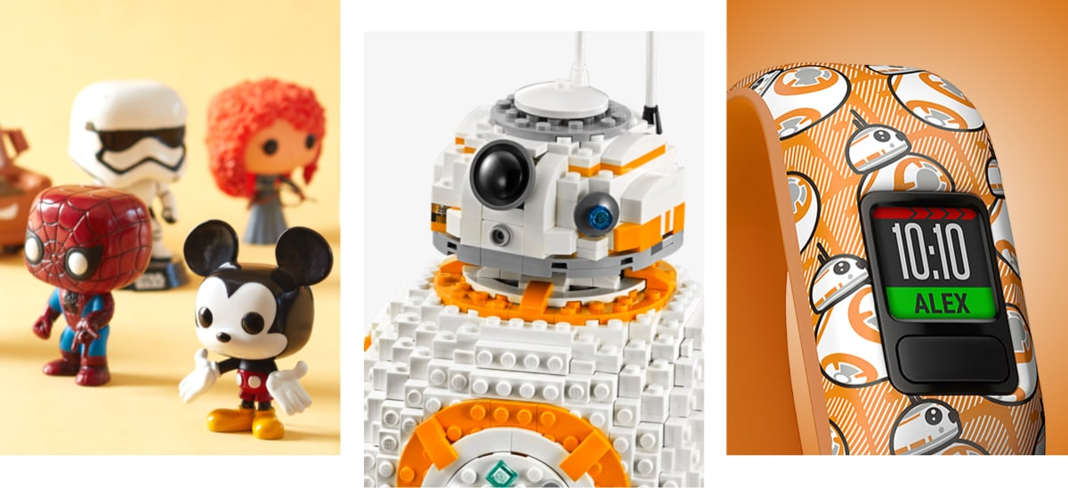 shopDisney | Funko, LEGO e Garmin