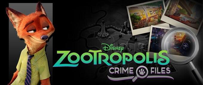 Zootropolis: Crime Files app