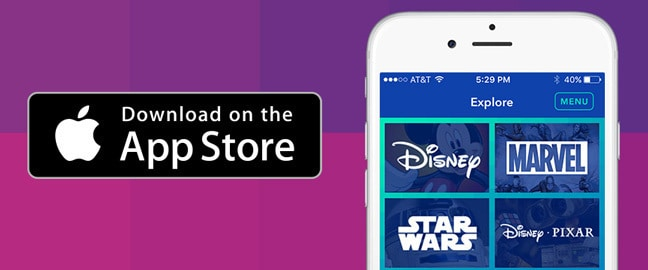 Disney Gif - App Store - Side by Side - SG