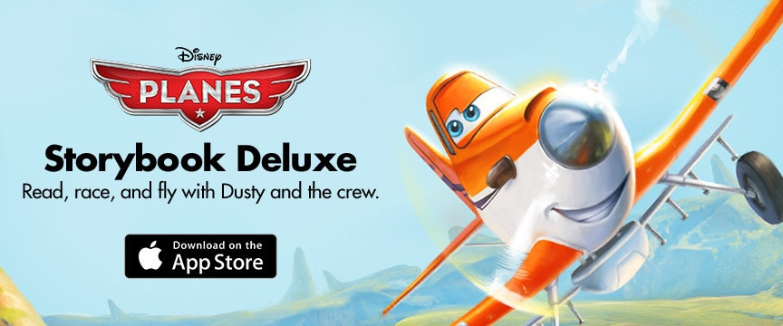 Planes Storybook