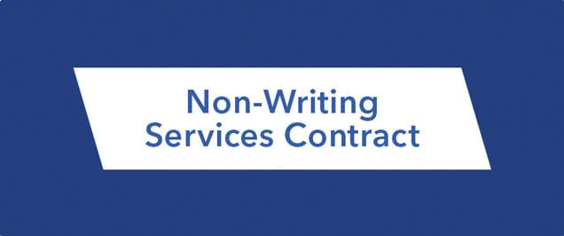 Storytellers 2015 - Non writing services contract