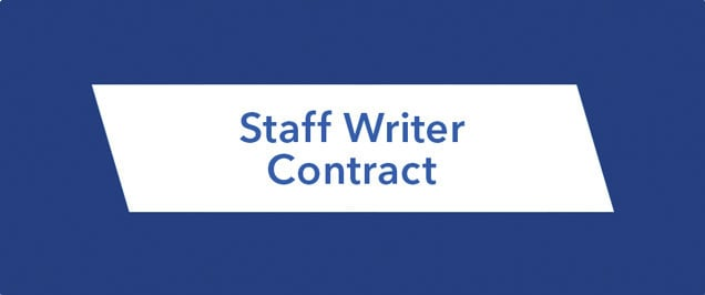 Storytellers 2015 - Staff Writers Contract