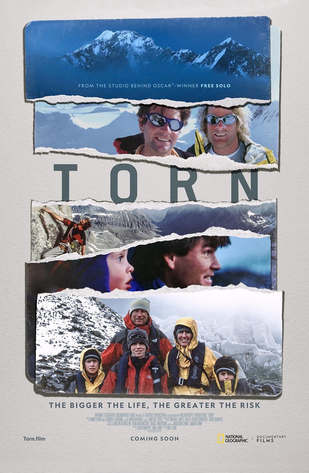 Torn poster art