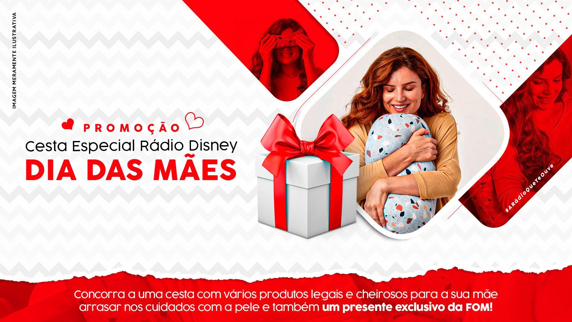 Promoção Cesta Especial Rádio Disney