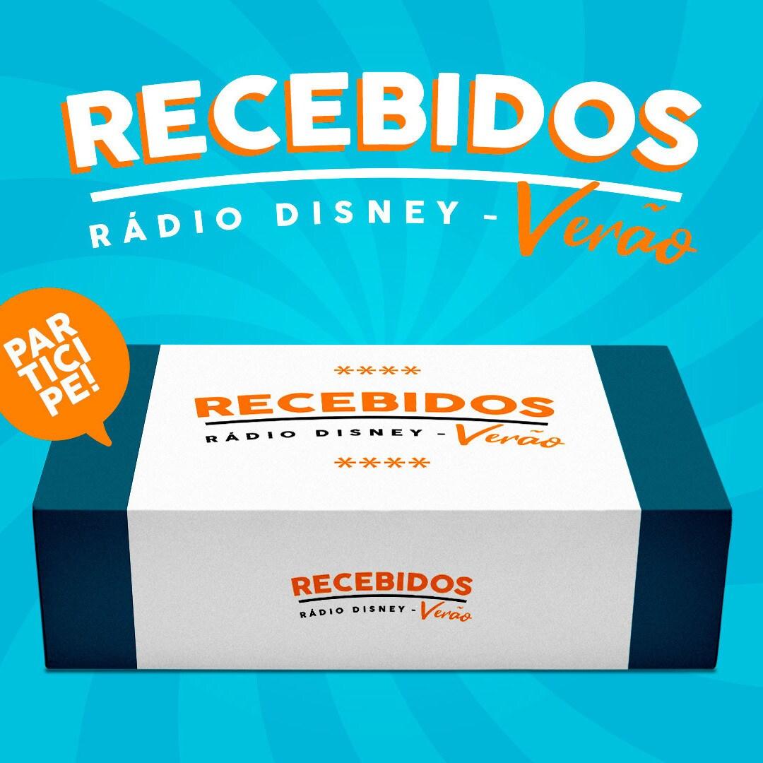 RECEBIDOS RÁDIO DISNEY DE VERÃO