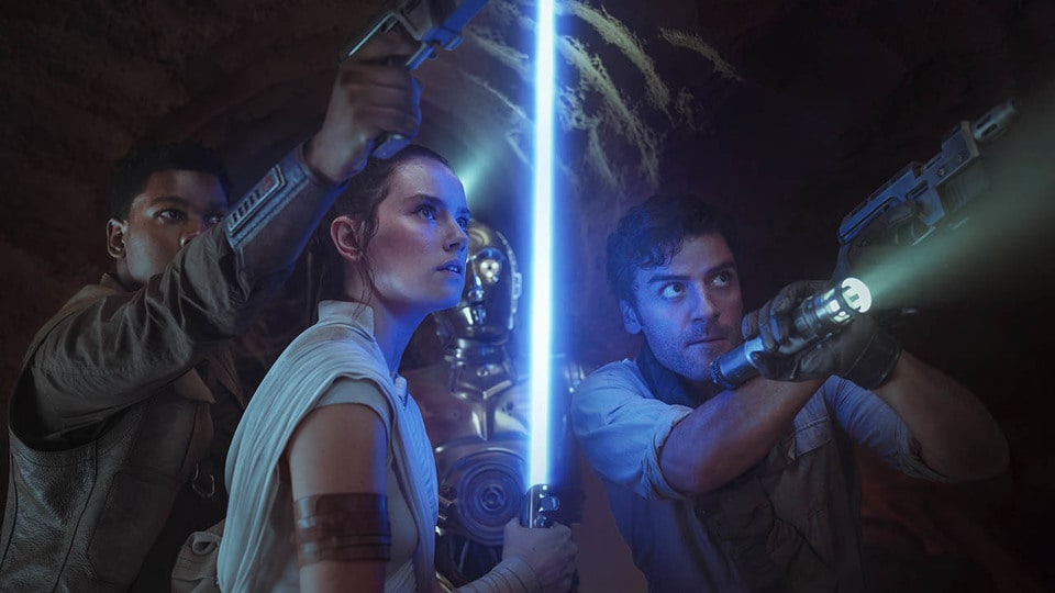 Anakin Luke And Rey S Lightsaber Starwars Com