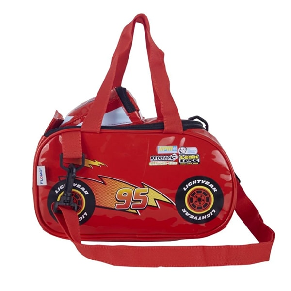 Disney Cars Shoulder Bag Set - Merah