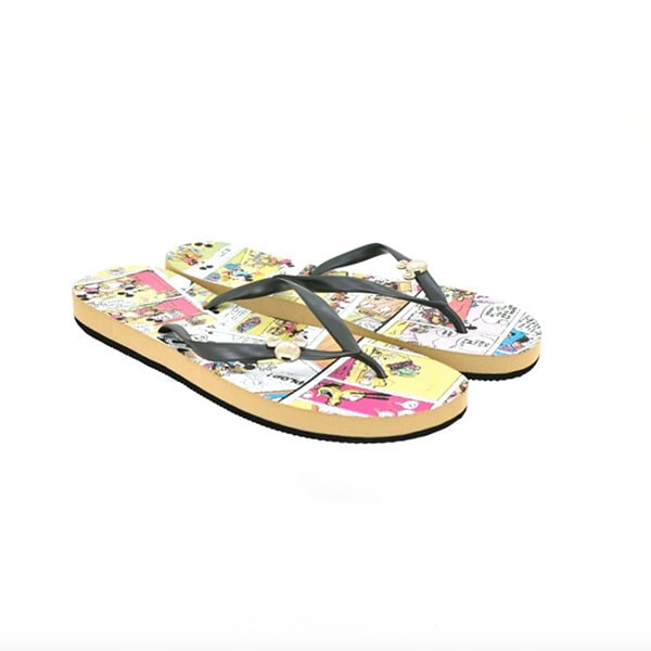 Disney รองเท้าผู้หญิง รองเท้าแตะ PATAPATA CLASSIC MICKEY สี ดำ รหัส 5776445