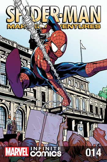 Spider-man Marvel Adventures: Spectacular #14