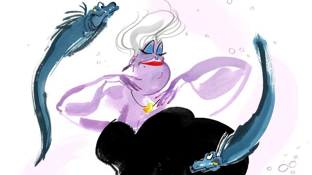 Celebrate Halloween With Some Wickedly Good Disney Villains Art