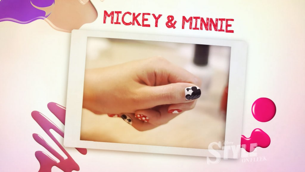 Style on Fleek | Mickey & Minnie Nails