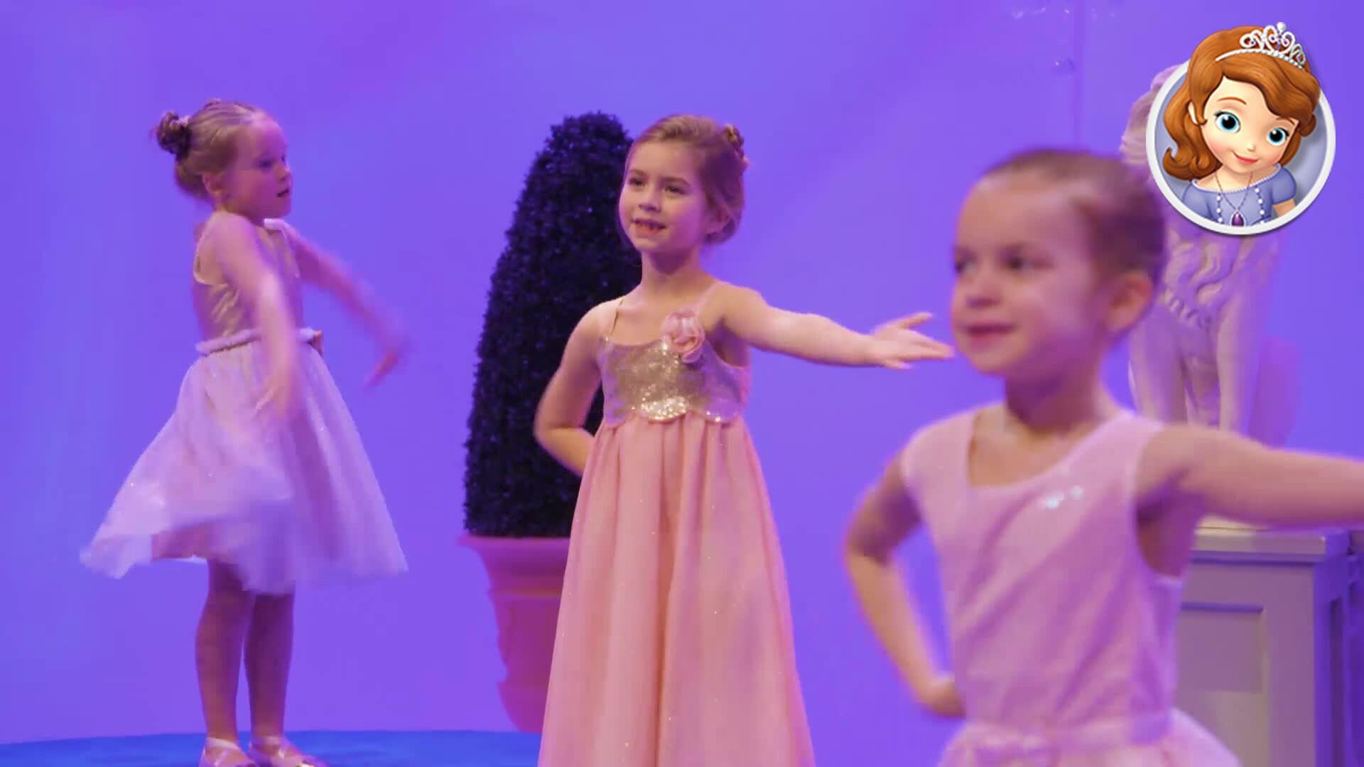 Dans met Sofia het Prinsesje