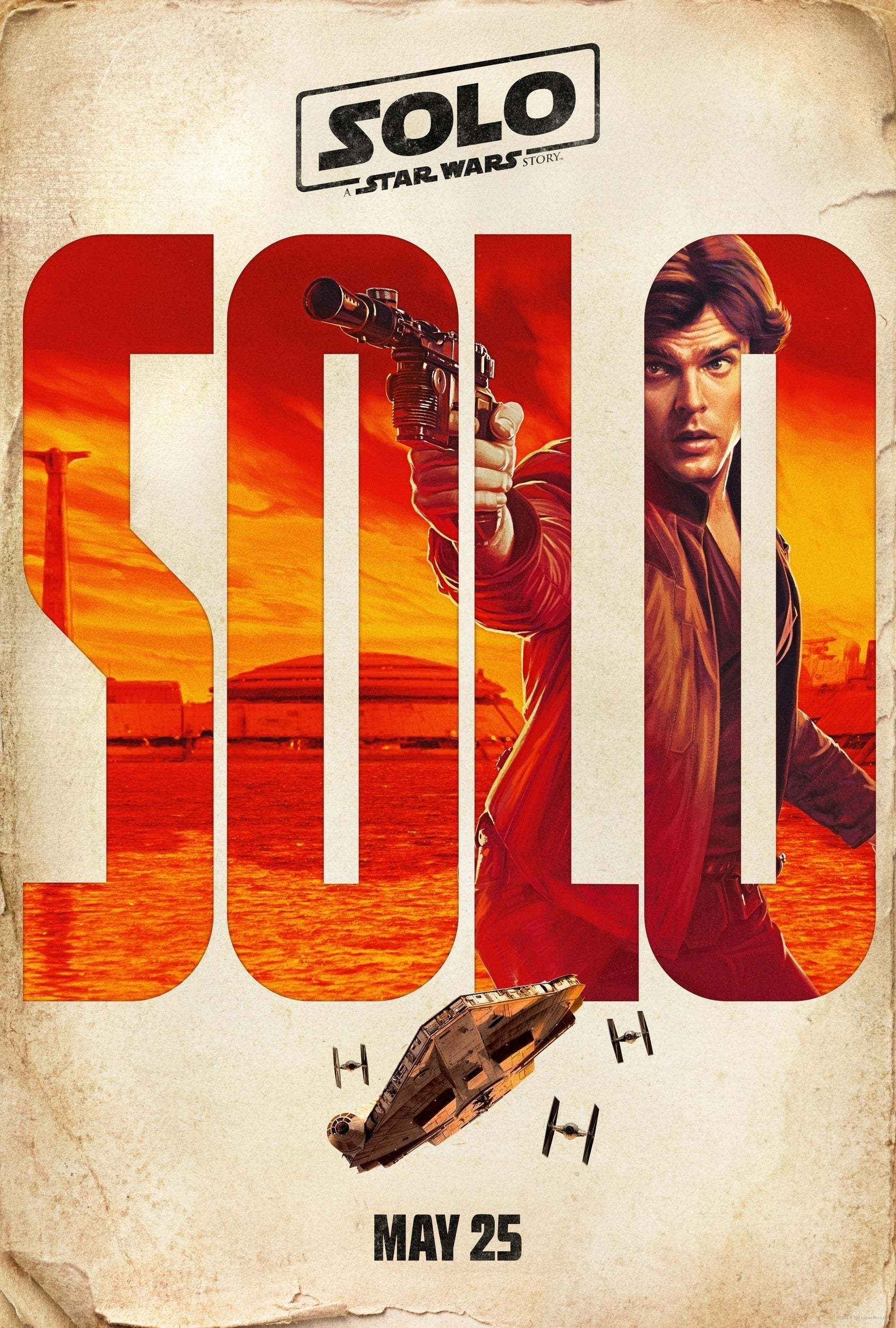 han poster from solo